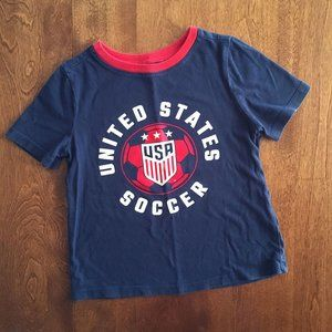 Old Navy USA Soccer tee 3T